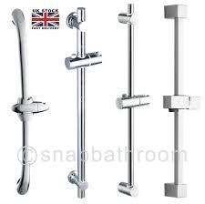 shower kit ebay chrome bathroom adjustable shower riser rail bracket shower head holder bar kit