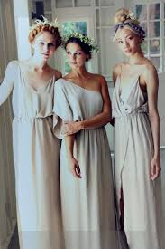 Greek Wedding Dresses Best 25 Greek Bridesmaid Dresses Ideas On Pinterest Grecian