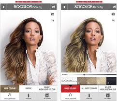 hair color simulator matrix and modiface come up with next gen hair colour simulator