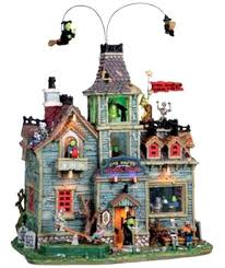 lemax spooky town lemax 05017 monsters school house spooky town retired