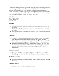 Sample Resume Objectives Teaching Position by Sample Dental Assistant Resume Objectives Resume For Your Job