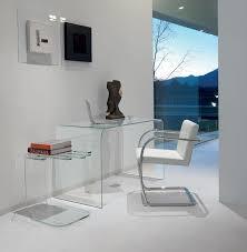 bureau verre design contemporain table en verre table haut de gamme vente en ligne italy