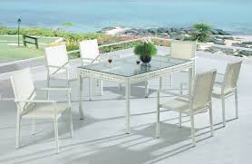 Rattan Patio Dining Set by Pe Rattan Outdoor Dining Sets Imitation Rattan Patio Dining Sets
