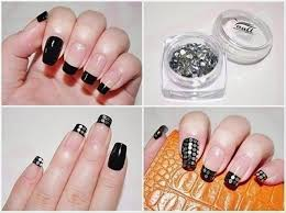 How To Do Nail Art Easily At Home For Beginners Step By Step - At home nail art designs for beginners