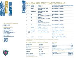 Pasadena Zip Code Map Tap Cards Can Now Be Used On Pasadena Arts Buses The Source