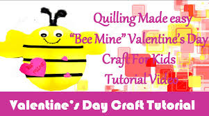 diy craft ideas how to make bee mine valentine u0027s day craft for