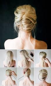 Hochsteckfrisurenen F Kurze Haare Bilder by The 25 Best Hochsteckfrisuren Kurze Haare Ideas On