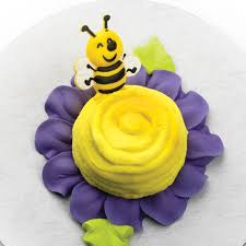 bumble bee cupcakes cupcake rings toppers picks summer bumble bee cupcake picks