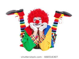 two cheerful clowns birthday children bright stock photo clown images stock photos vectors