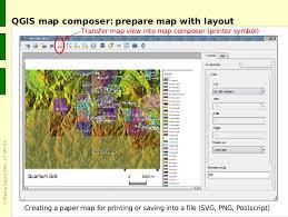 qgis layout mode the grass gis software with qgis gis seminar