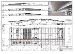 impressive design ideas building plan elevation and section 10