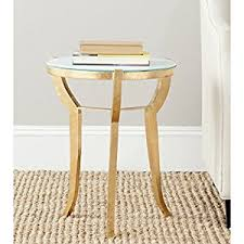 Gold Accent Table Safavieh Home Collection Ormond Gold Accent Table