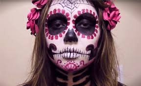 Halloween Devil Eye Makeup The 15 Best Sugar Skull Makeup Looks For Halloween Halloween