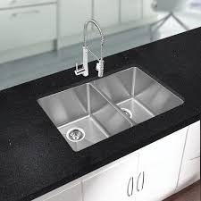 Kitchen Undermount Sinks Kitchen Undermount Sink Stainless With Brown Wooden Cabinet Also