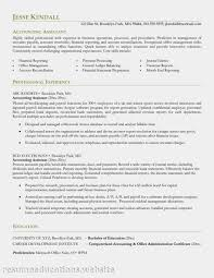Graduate Accountant Resume Sample by Accounting Resume Recent College Graduate Resumesdirection Com