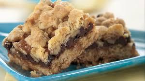 chocolate and caramel oatmeal bars recipe bettycrocker com