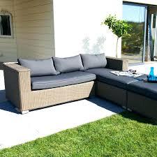 canape tresse exterieur design d intérieur canape de jardin confortable resine exterieur