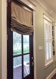 French Door Shades And Blinds - best fabric linen relaxed roman shades for windows u0026 french doors