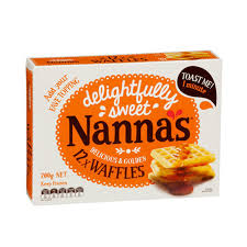 Toaster Waffles Patties Nanna U0027s Nanna U0027s Sweets Waffles 12 Pack