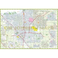 map of fresno fresno clovis california map gm johnson maps