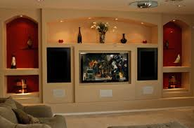 custom drywall entertainment centers guesswork with a 3d