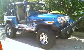 93 jeep wrangler 93 wrangler jeep with 6inch skyjacker lift