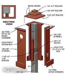 how to install outdoor light post how to install outdoor lighting and outlet yards lights and l