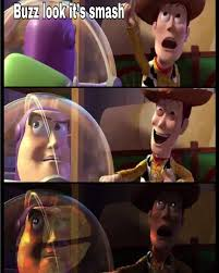 Buzz Lightyear And Woody Meme - woody spoke too soon inkling girl s eye know your meme