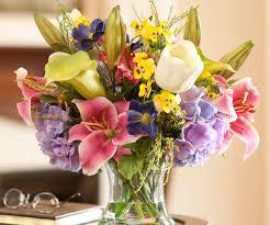 sweet calla lily rubrum lily silk flower bouquet romantic silk