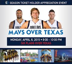 Six Flags Promo Code 2015 Six Flags Event Official Website Of The Dallas Mavericks