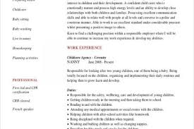 What To Put On A Babysitting Resume Awesome How Do You Put Babysitting On A Resume Images Simple