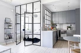 verriere interieur cuisine cuisine avec verrière intérieure pour restructurer l espace