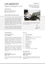 resume design lix hewett lix hewett design lix hewett design