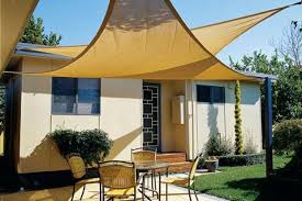 How To Make A Retractable Awning Making More Shade With A Simple Retractable Awning Apartment Therapy