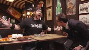 Challenge La Beast Competitive Eater L A Beast Conquers His Fear Of Bugs And