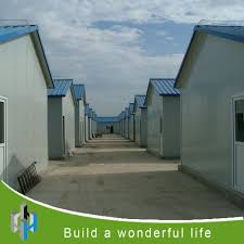 prefab labor house camp house sandwich panel prefabricated house