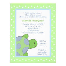 turtle baby shower baby shower invitations stunning turtle baby shower invitations