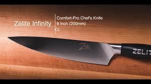 Comfort Chef Unboxing Zelite Infinity Comfort Pro 200mm Chef Youtube