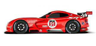 dodge viper race car racing vipers to wear le mans winning dodge livery again