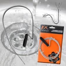 Drain Unblocker Cleaner Shower Kitchen Sink Hair Unclogger Remover - Kitchen sink snake