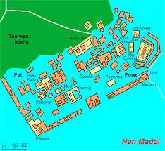 Micronesia Map Nan Madol Micronesia Map