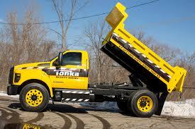 2016 ford f 750 tonka dump truck concept shown at ntea show