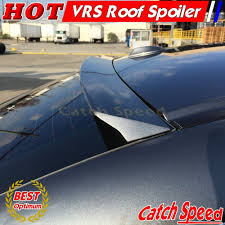 painted vrs style rear roof spoiler wing for chevrolet impala 2014