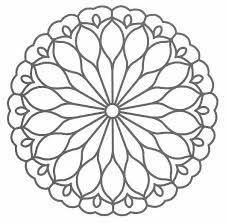coloriage mandala facile 58 gratuit à imprimer en ligne