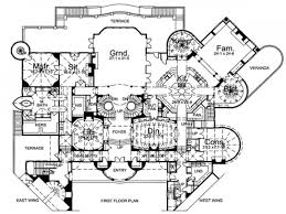 castle floor plan blueprints home plans mexzhouse luxury house