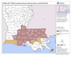 Map Of Louisiana by Louisiana Severe Storms And Flooding Dr 4277 Fema Gov