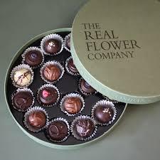 the real flower company chocolate box