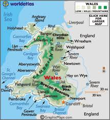 where is wales on the map wales map geography of wales map of wales worldatlas com