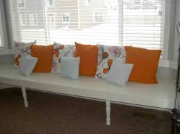 built in window seat tutorial family room diy window seat for