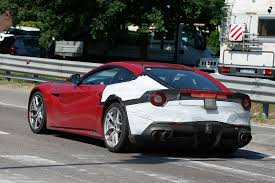 ferrari california 2018 2018 ferrari f12 m spied mid cycle update to bring active